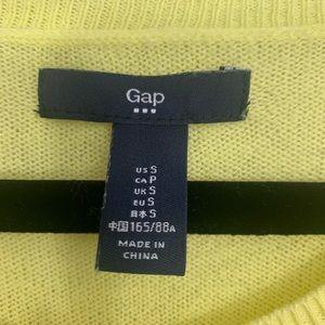 GAP Sweaters - GAP Yellow Long Sleeve Front Pocket Sweater